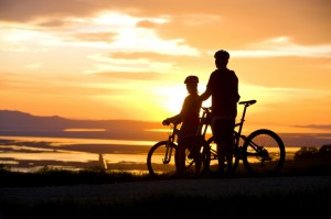 sunset_biking